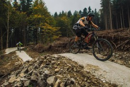 Lipovske Stezky – koleny rowerowy raj