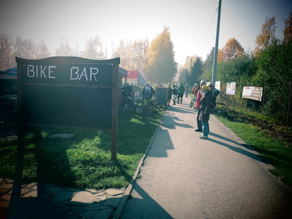 Bike Bar - jeszcze nie wjechaliśmy na górę, a już nam się podoba! foto:mtb.pl