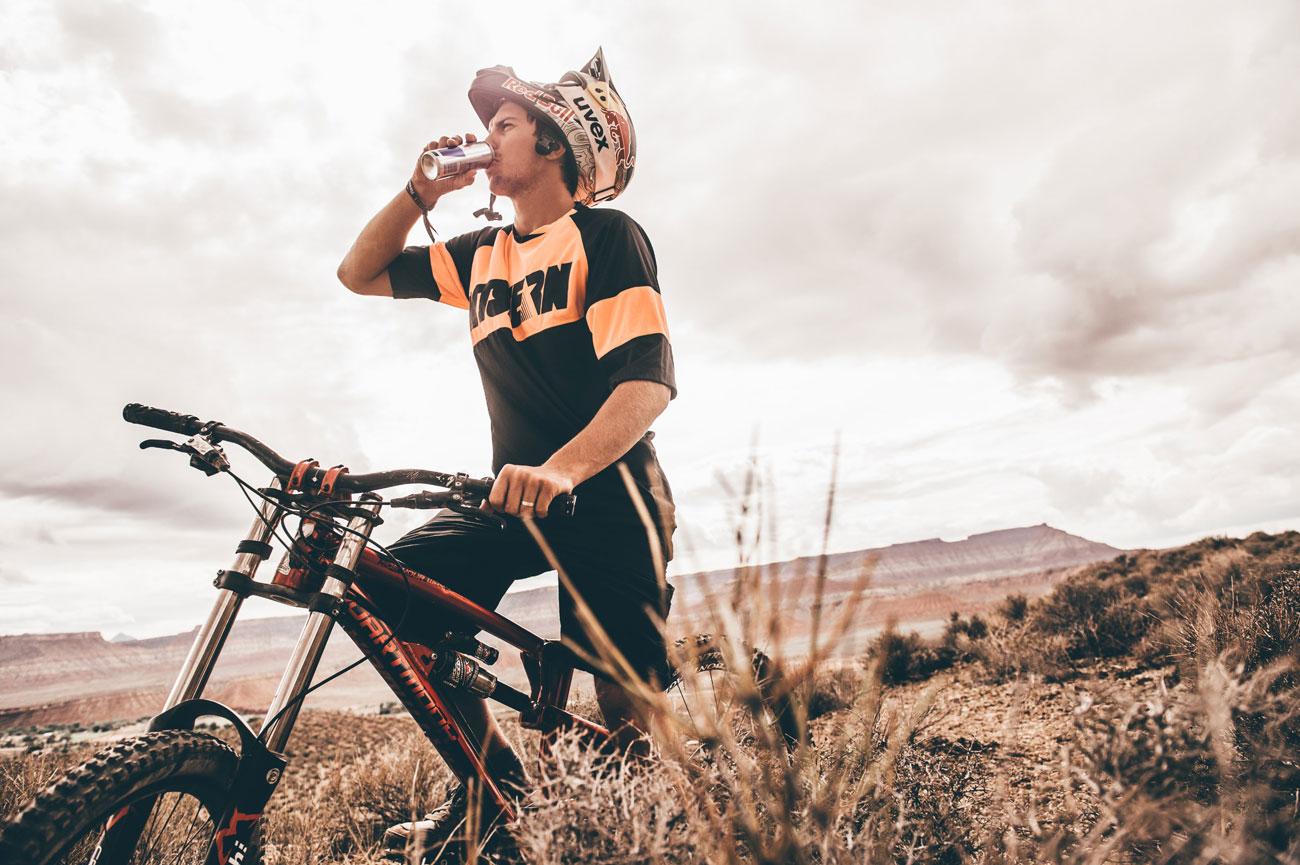 Szymon Godziek - portret. Foto: Red Bull Content Pool