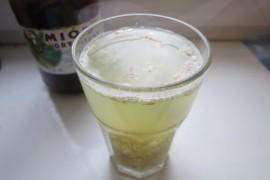 Wzmacniający napój z imbiru