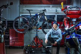 Bike-check: Mariusz Jarek i Trek Slash 9 2016