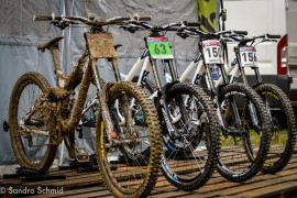 Swiss Downhill Syndicate na rowerach NS Bikes