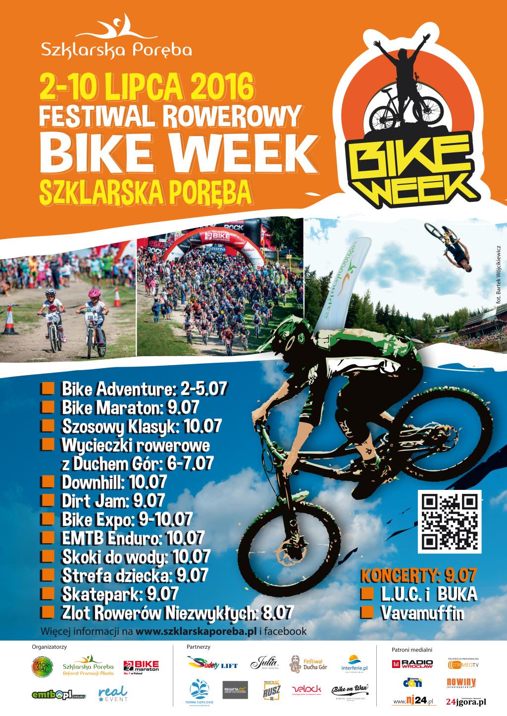 Plakat Bike Week 2016