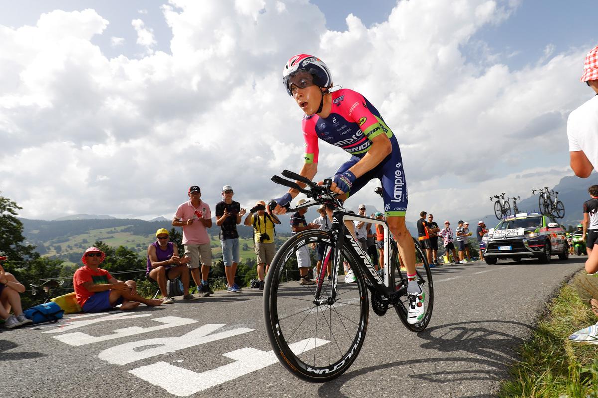 Tour de France 2016 - 103a Edizione - 18a tappa Sallanches - Megeve 17 km - 21/07/2016 - Louis Meintjes (Lampre - Merida) - foto Luca Bettini/BettiniPhoto©2016