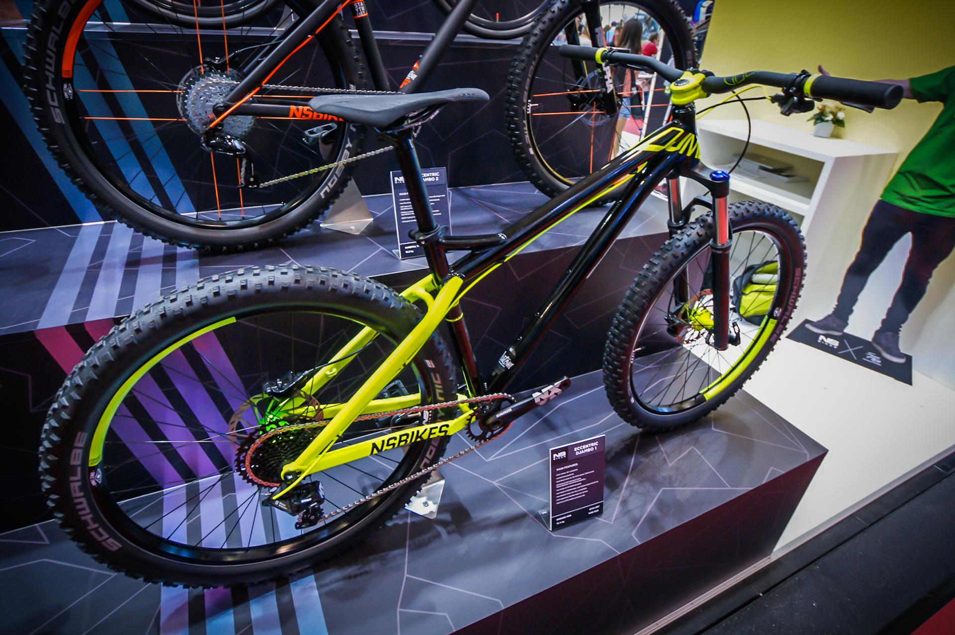 Hardtail na grubym kapciu - NS Bikes Djambo 1.