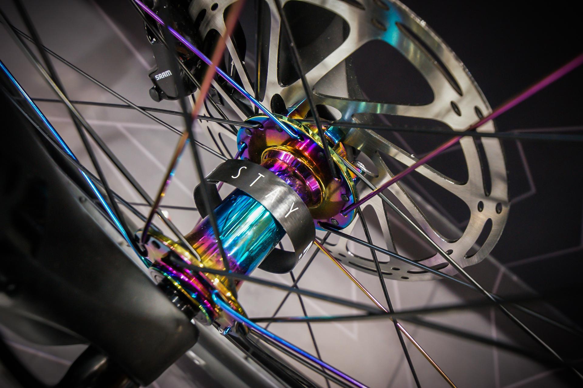 Piękny detal w NS Bikes Fuzz 1.