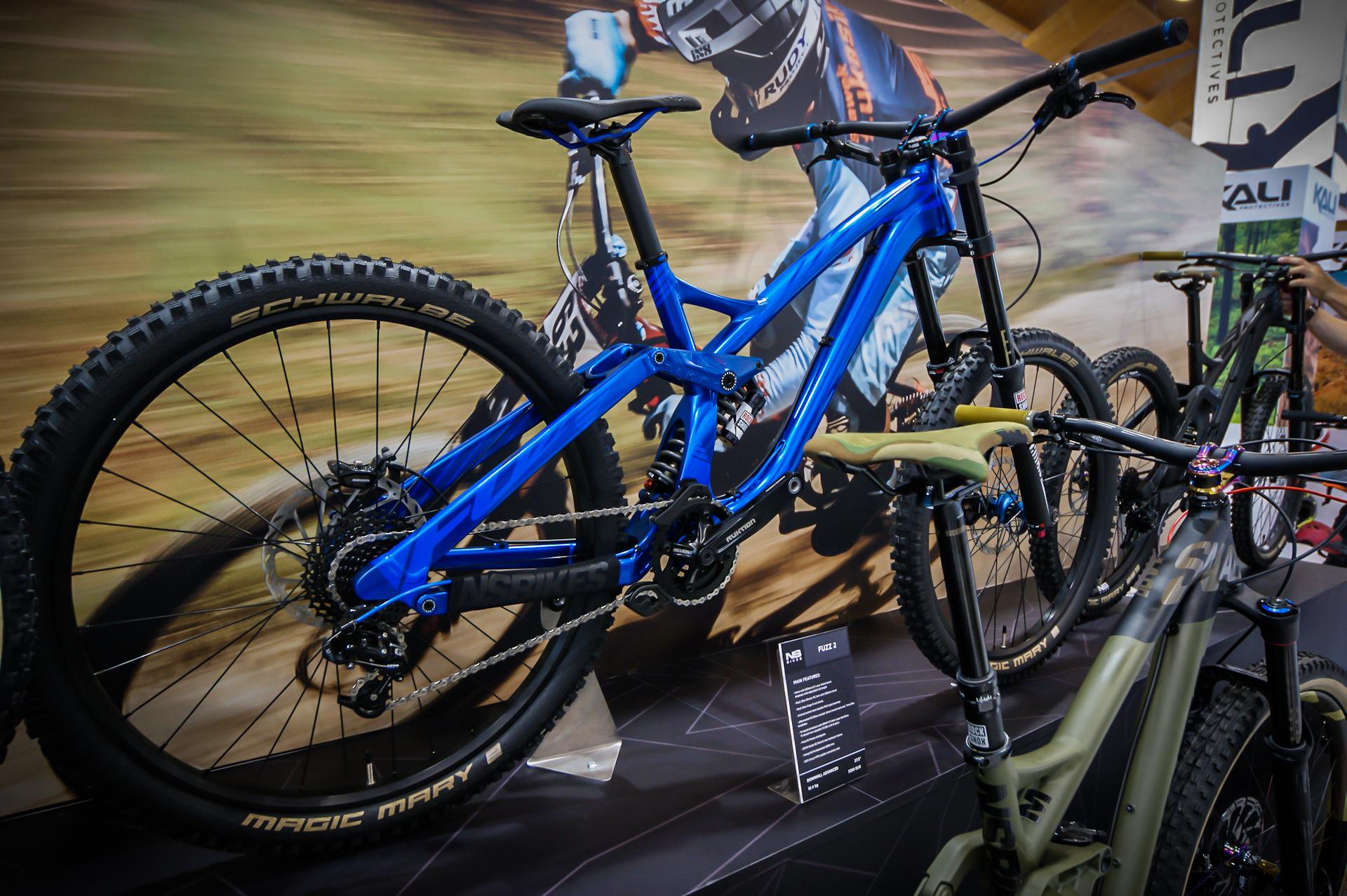 NS Bikes Fuzz 2 w niebieskich barwach - pięknie!