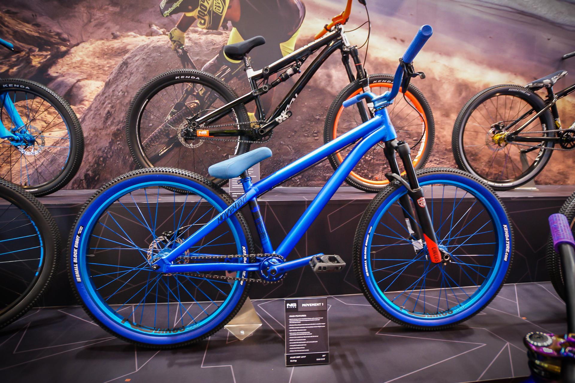 Bardzo odważna koncepcja kolorystyczna - NS Bikes Movement.