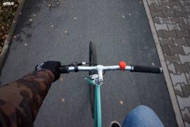 Bezpieczna jesień i zima na ścieżce rowerowej